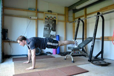 Elevated Push up's