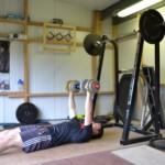 Floor Press exercise