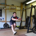 Single Leg Squats example 2