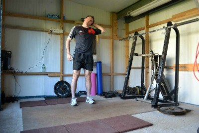 Neck Stretching Exercise