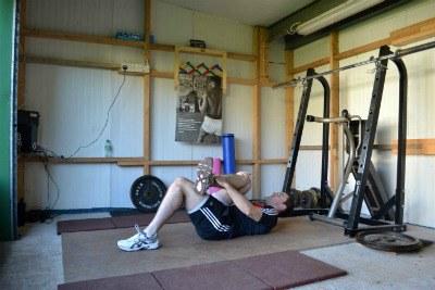 Piriformis exercise