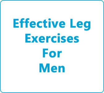Effective leg exercises for men